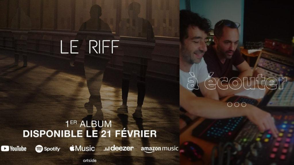 Pochette album : Le Riff