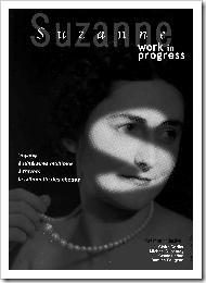 Affiche spectacle Suzanne voyage à itinéraires multiples à travers la silhouette des choses du Collectif Quatre Ailes