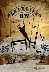 Affiche du Projet RW du Collectif Quatre Ailes