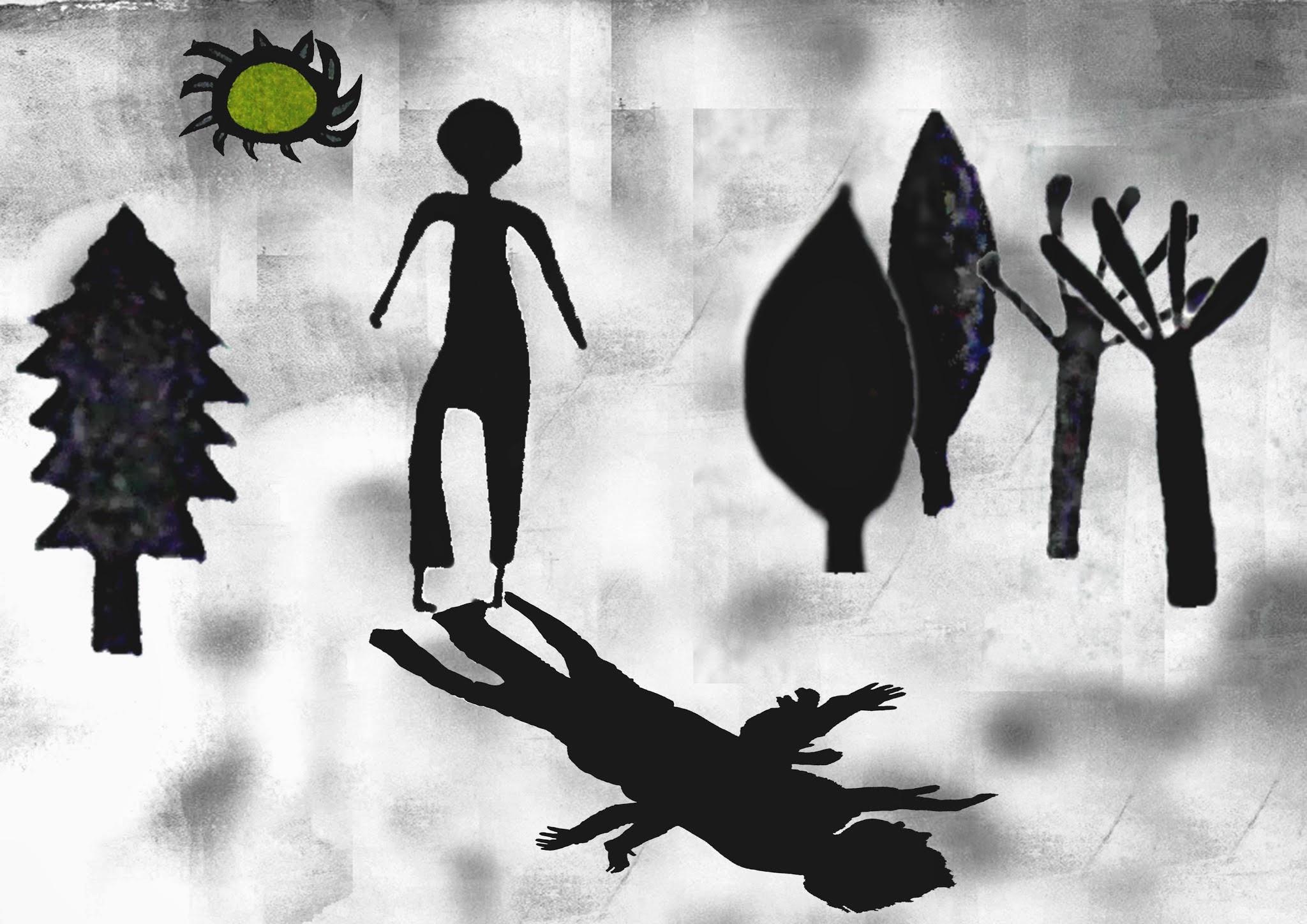 J'ai très peur des ombres elles sont très foncées et très étirées et aussi très sombres