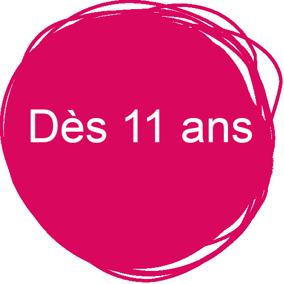 Logo spectacle à partir de 11 ans